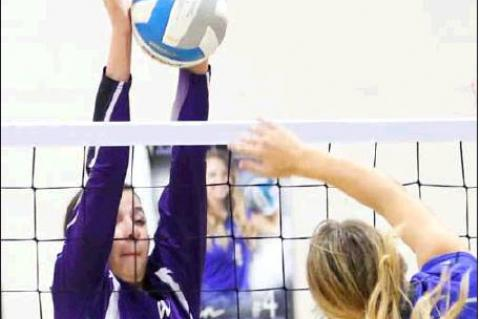 Lady Dragons Volleyball competes in Northern Plains tourney