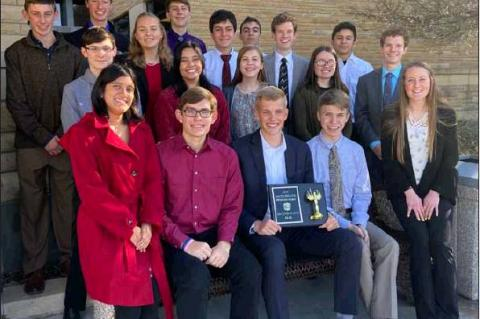 Bearcat Mathletes shine at Fort Hays math relays