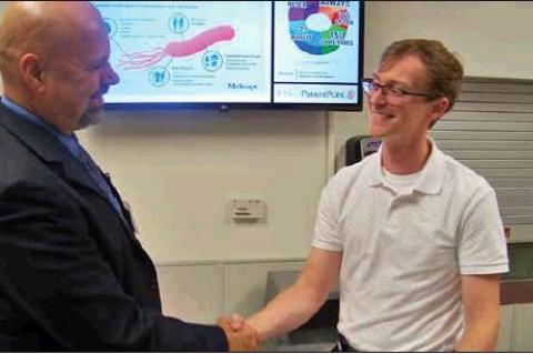 Lahey begins ECMC medical career