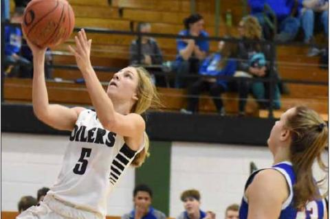 Lady Oilers have 99-point night