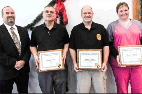 ECF employees recognized for work