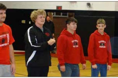 Two Ellsworth grapplers place at state competition