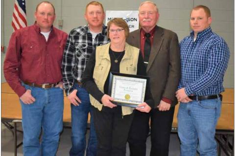 Patricks named 'Farm Family of the Year'