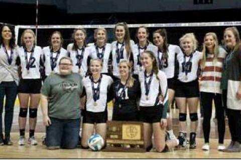 Lady Oilers are 1A State volleyball champs