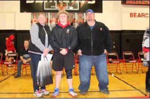 Bearcat wrestling recognizes seniors