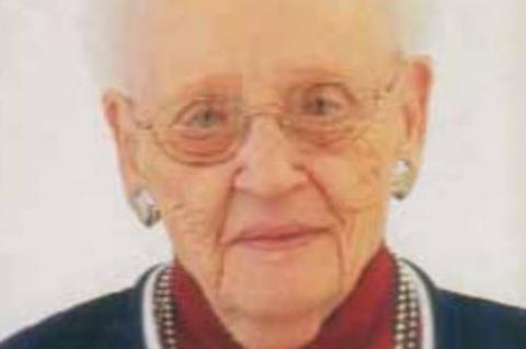 Card shower for Betty Katzenmeier's 102nd birthday