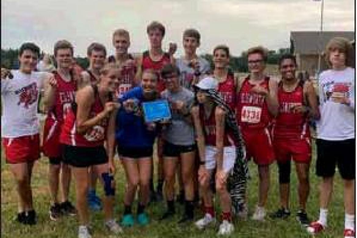 Ellsworth runners compete at Lyons
